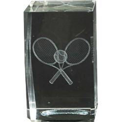 Cristal Tenis 3D