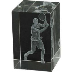 Cristal Tenis Masculino 3D