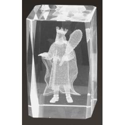 Cristal 3D - Rey de Bastos