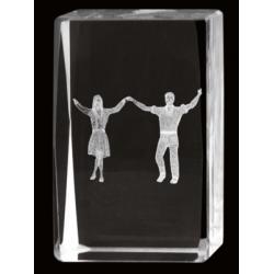 Cristal 3D - Baile 3